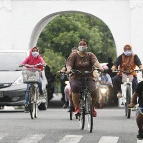 Jakarta PSBB Lagi, apakah bersepeda mulai dilarang?